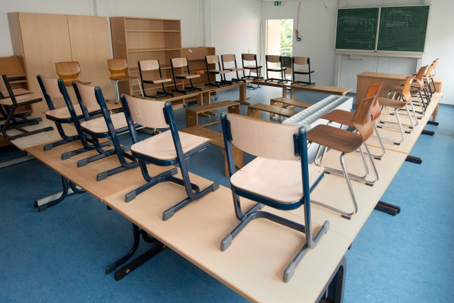 Foto: Klassenraum