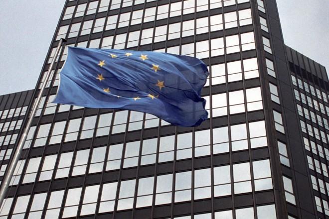 Rathaus mit Europa Fahne
