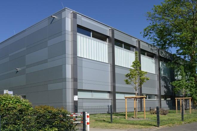 Foto:Sporthalle in der Beisingstraße