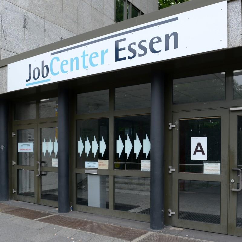 Foto: JobCenter Eingang