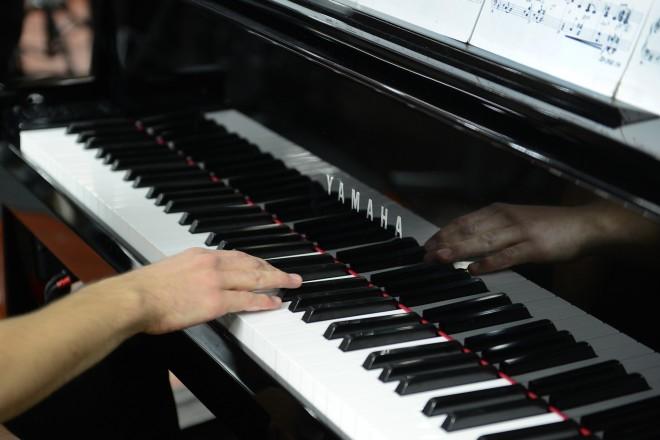 Foto: Klavierspiel