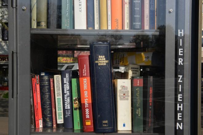 Foto: Bücherschrank