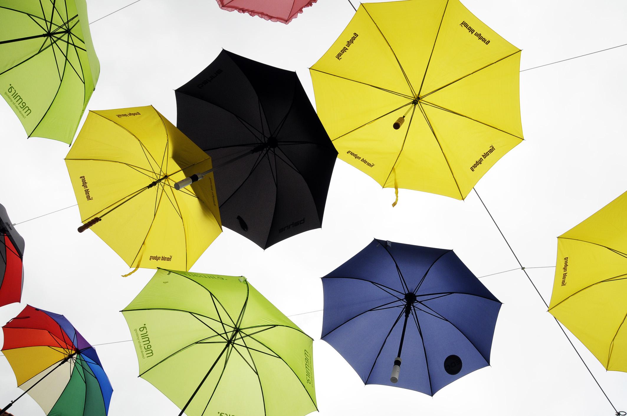 Foto: Mehrere Regenschirme