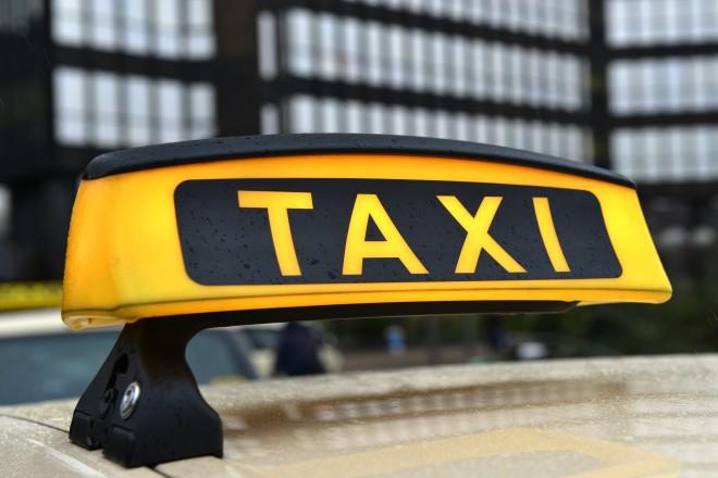 Foto: Taxi-Schild