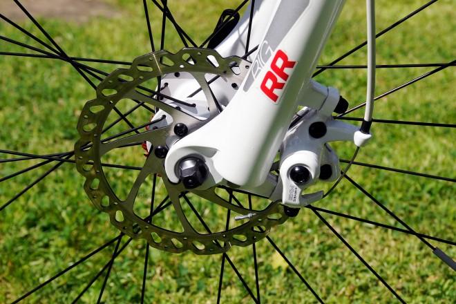 Foto: Nahaufnahme eines Fahrrad Reifens