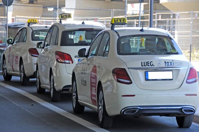 Foto: Wartende Taxis