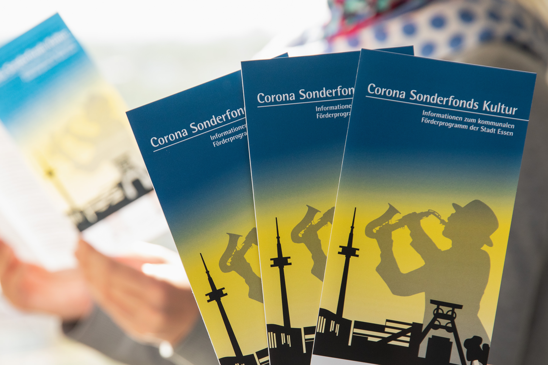 Foto: Flyer zum Corona Sonderfonds Kultur