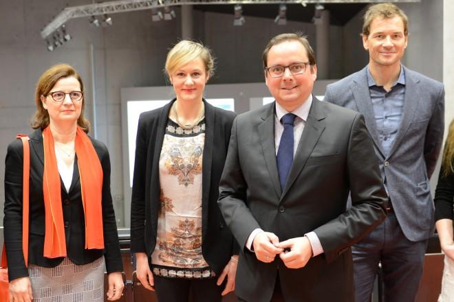 Eröffnung des 1. Essener Kinder- und Jugendsportkongresses im Audimax der Universität Duisburg-Essen