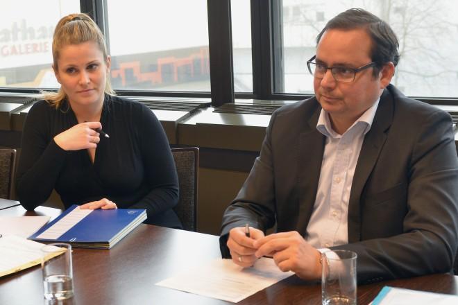 Bürgersprechstunde mit Oberbürgermeister Thomas Kufen. Foto: Peter Prengel