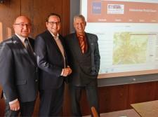 Foto:Klaus Kaiser, Oberbürgermeister Thomas Kufen und Dr. Frank Knospe
