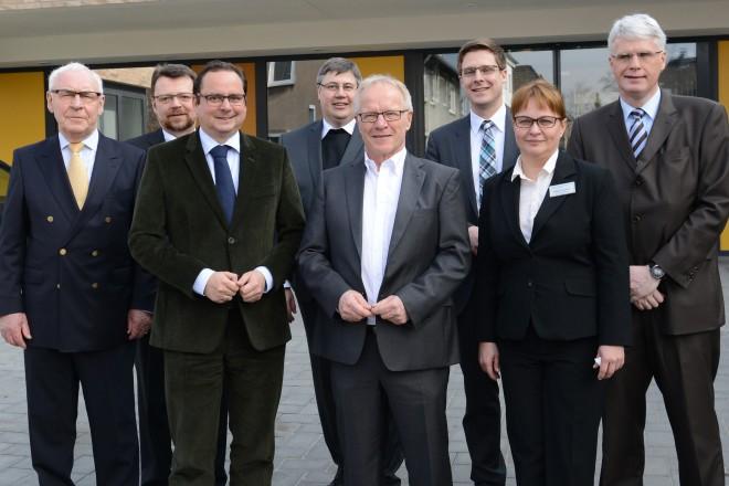 Foto: Eröffnung des Altenwohn-und Pflegeheims St. Immaculata