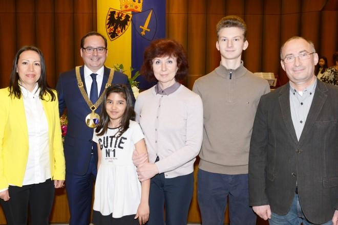 Foto: Einbürgerungsfeier im Essener Rathaus
