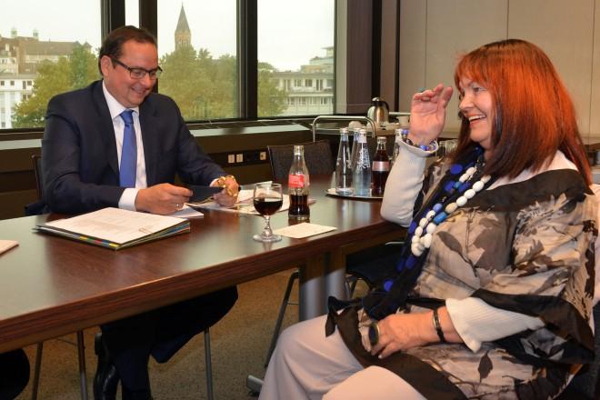 Bürgersprechstunde mit Oberbürgermeister Thomas Kufen.