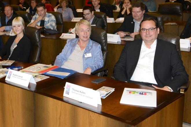 Eröffnung der GAY*COM im Essener Rathaus