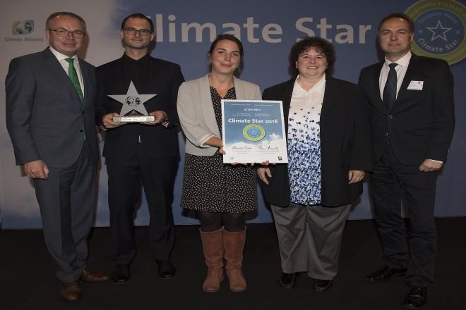 Sieger des Climate Star 2016 aus Nordrhein-Westfalen, das Netzwerk ALTBAUNEU