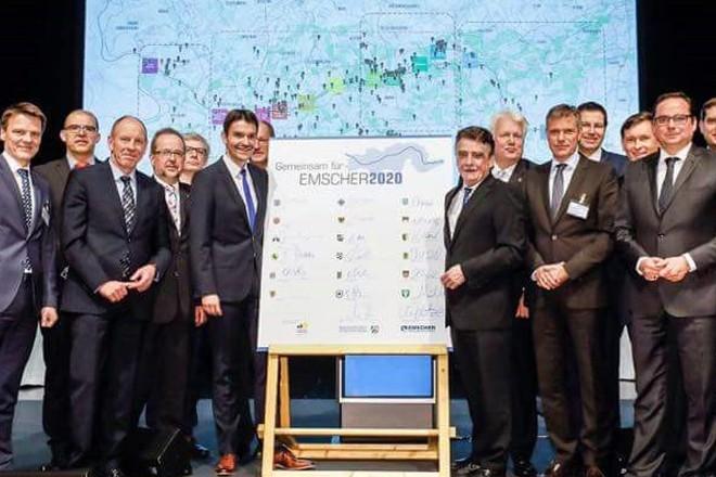 "Kooperationsvereinbarung ""Emscher 2020"""
