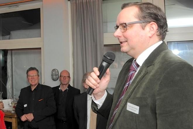 Neujahrsempfang Interessengemeinschaft Rüttenscheid. Foto: Frank Mohn