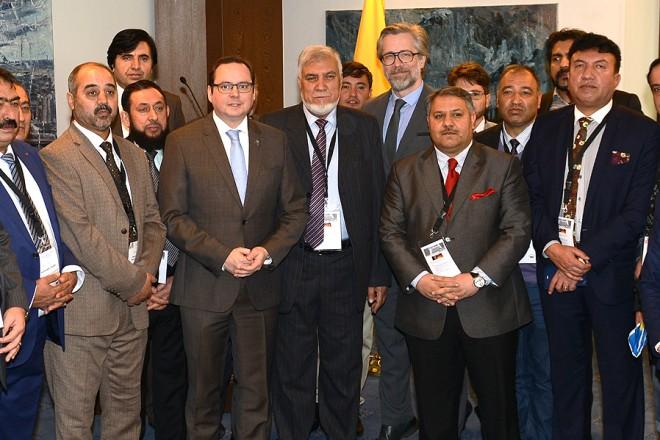 Empfang einer Wirtschaftsdelegation aus Afghanistan