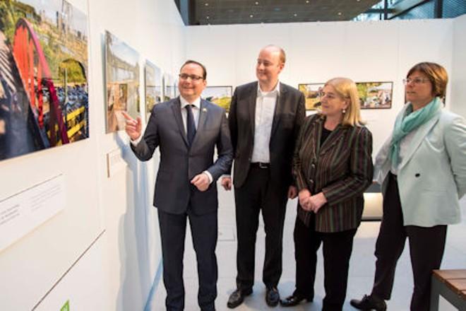 Oberbürgermeister Thomas Kufen präsentiert Grüne Hauptstadt Europas - Essen 2017 in Berlin