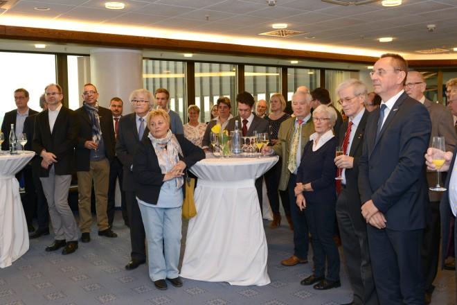 Empfang des Verbandausschusses des Deutschen Kanutages im Essener Rathaus