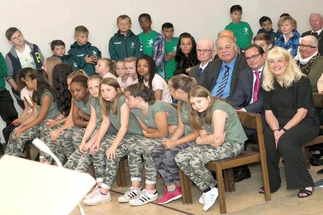 Oberbürgermeister Thomas Kufen besucht den Festakt zum 50jährigen Jubiläum des Sportverein DJK Eintracht Borbeck
