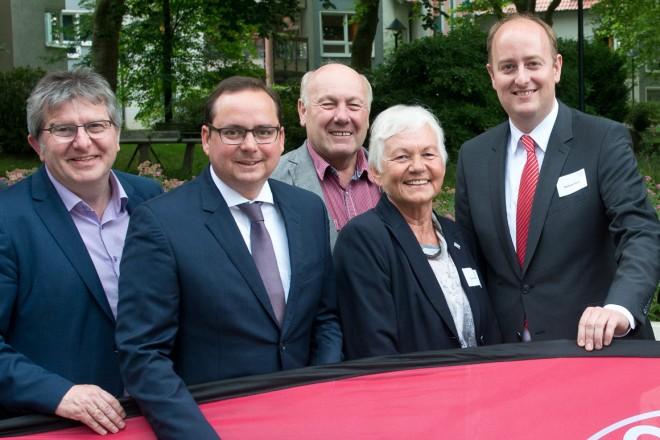 100 Jahre Sozialverband Deutschland und 70 Jahre Kreisverband Essen feierten die Vertreterinnen und Vertreter des Sozialverbandes Essen im Hotel Franz.
