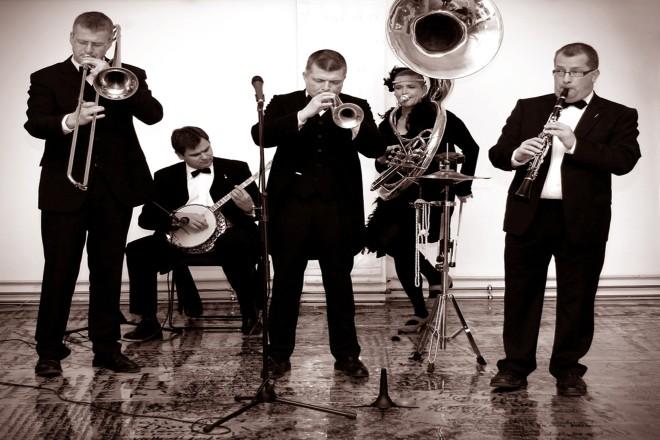Konzert im Musikpavillon Old Time Memory Jazzband Origineller, vitaler New Orleans Jazz und Dixieland