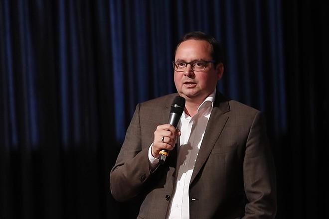 Oberbürgermeister Thomas Kufen eröffnet die interkulturelle Woche auf Zollverein