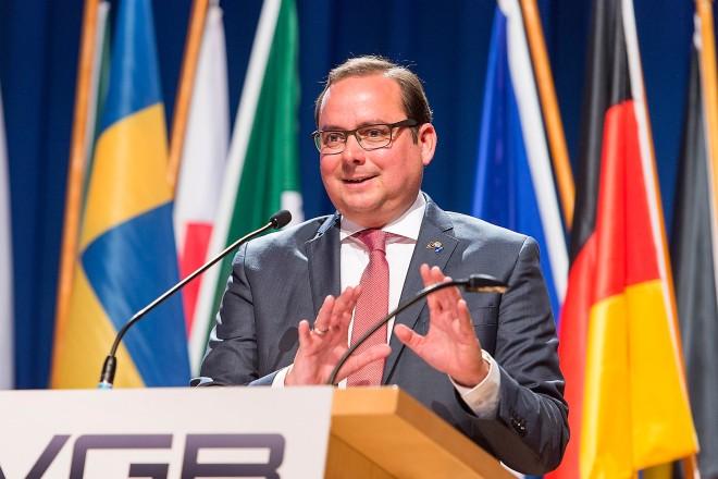 VGB KONGRESS 2017 - Erzeugung im Wettbewerb Sprach auf dem VGB Kongress: Thomas Kufen, Oberbürgermeister der Stadt Essen