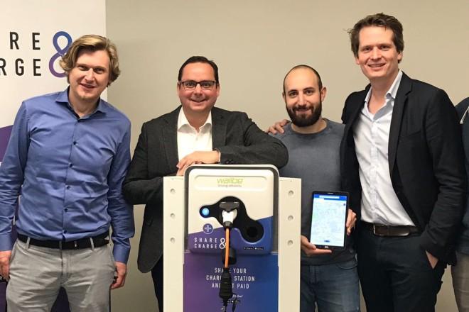 Oberbürgermeister Thomas Kufen traf sich heute mit dem Team des Essener Start-Up-Unternehmens MotionWerk und informierte sich über die Zukunft neuer Organisationsformen im Bereich der Mobilität.