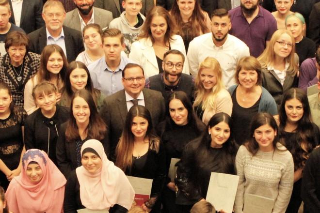 """Zertifizierung von Jugendlichen im Rahmen des Projekts """"mitWirkung"""""""
