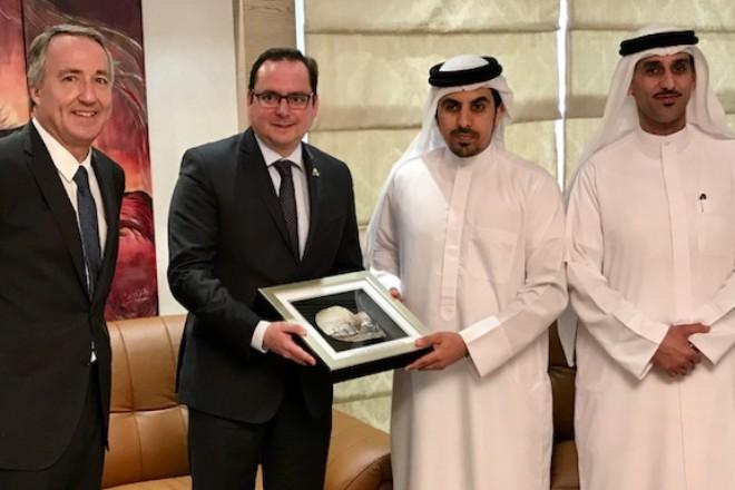 Offizielle Eröffnung der IPM DUBAI 2017