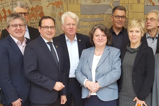 Gemeinsame Sitzung der Verwaltungsvorstände Dortmund und Essen