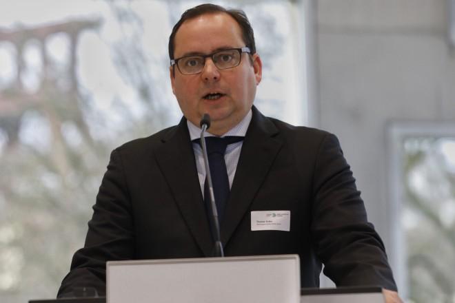 Oberbürgermeister Thomas Kufen begrüßt die Teilnehmer der Tagung Grüne Hauptstadt Europas- Essen 2017