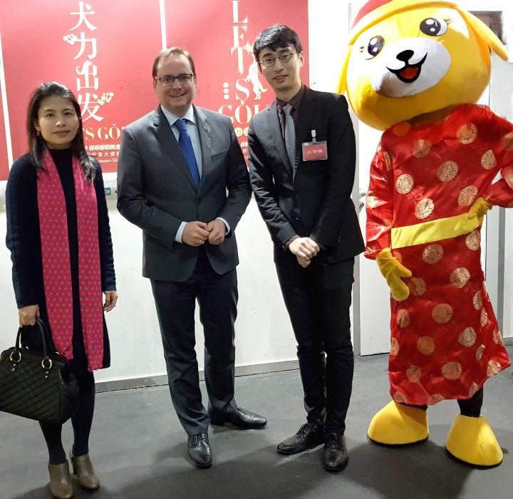Oberbürgermeister feiert Chinesisches Frühlingsfest 2018 - essen.de