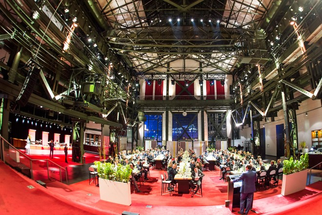 Grand Opening der E-world energy & water 2018 im Colosseum