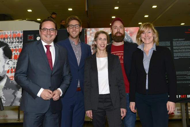 """Oberbürgermeister Thomas Kufen eröffnet die Ausstellung """" WE ARE PART OF CULTURE """""""