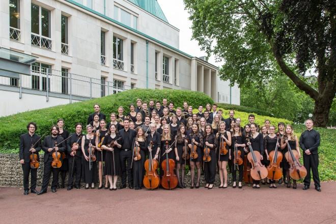 Essener-Jugend-Symphonie-Orchester im Grugapark