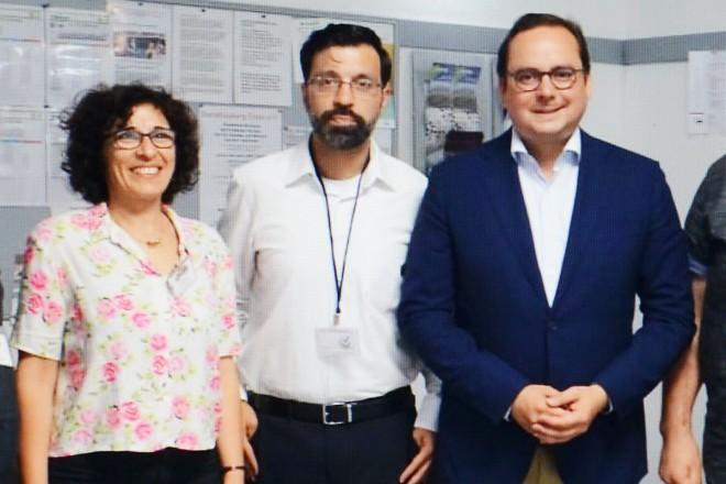 """Oberbürgermeister Thomas Kufen besucht das Forum """"Essen! Mein neues Zuhause"""""""