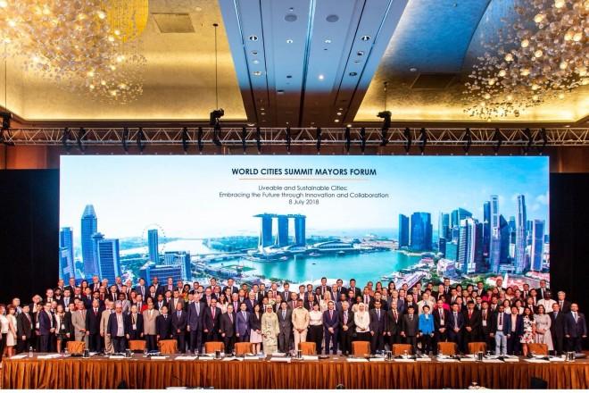 Oberbürgermeister Thomas Kufen zu Gast auf dem World Cities Summit 2018