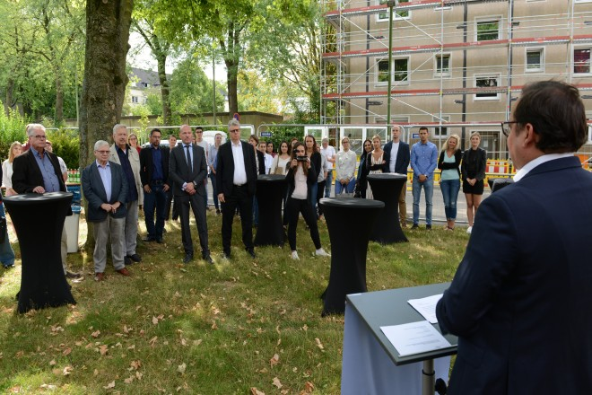 Startschuss für den Erweiterungsbau des Studieninstituts