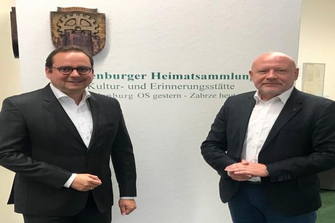 Foto: Oberbürgermeister Thomas Kufen besucht die Hindenburger Heimatsammlung