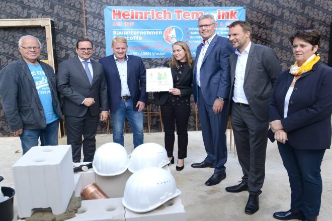 Grundsteinlegung für Kindertagesstätte und Sozialzentrum an der Schloßstraße
