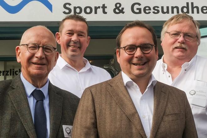 Oberbürgermeister Thomas Kufen gratuliert dem SGZ Altenessen zum 20jährigen Bestehen