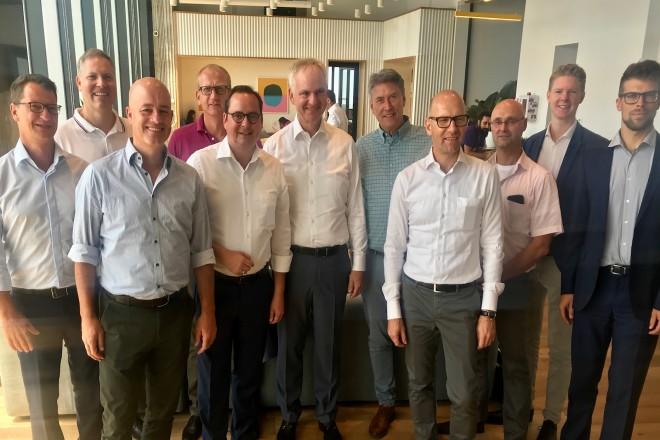 Eine Essener Delegation aus Politik und Wirtschaft besucht die israelische Partnerstadt Tel Aviv. Essen und Tel Aviv sind bereits seit 1991 Städtepartner