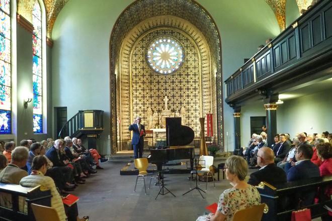 Benefizkonzert Live Music Now in der Friedenskirche