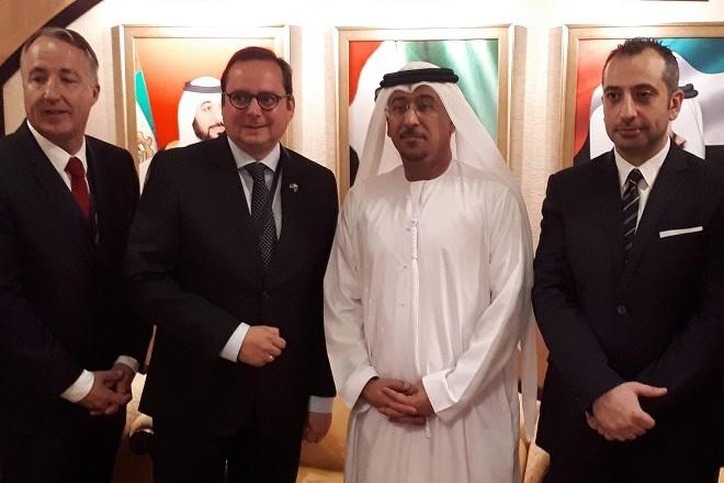 Oberbürgermeister Thomas Kufen zu Besuch in Dubai. (Foto: Stadt Essen)