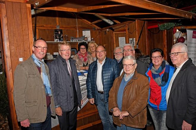 Bürgermeister Franz-Josef Britz eröffnet den 42.Steeler Weihnachtsmarkt