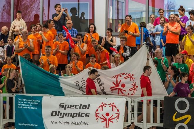 Eröffnung des 12.Special Olympics NRW Schwimmfestes