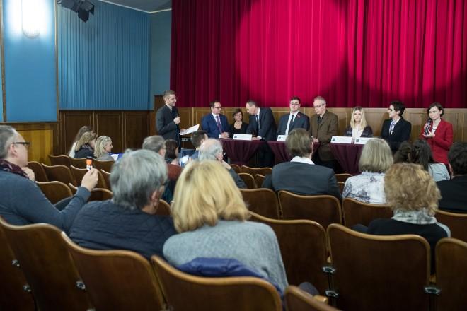 Diskussionsrunde 100 Jahre Ende des 1. Weltkrieges mit internationalen Gästen